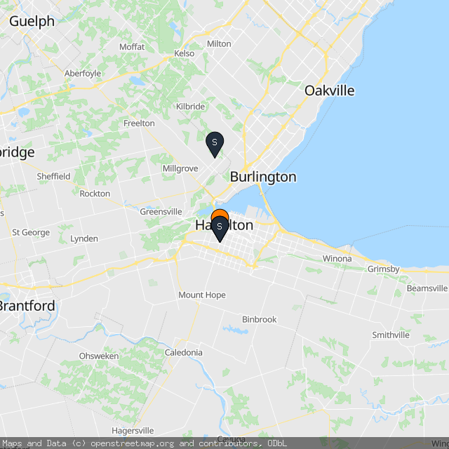 Map of Michael A.'s transactions