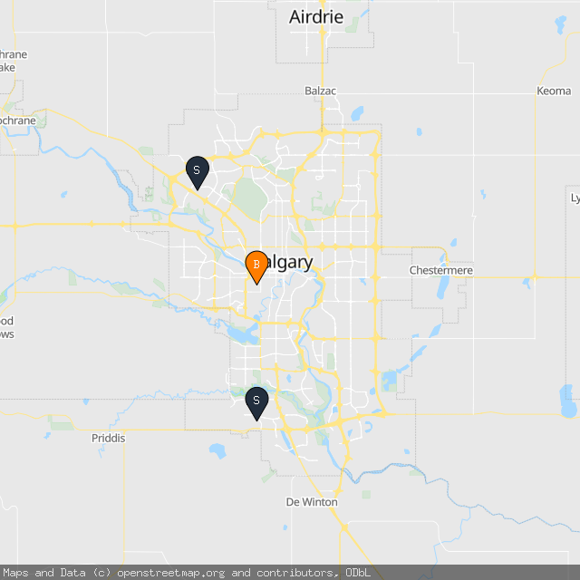 Map of Jake M.'s transactions