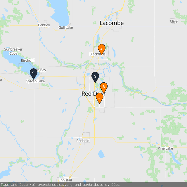 Map of Nicole G.'s transactions