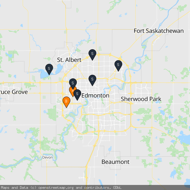 Map of Stella Z.'s transactions